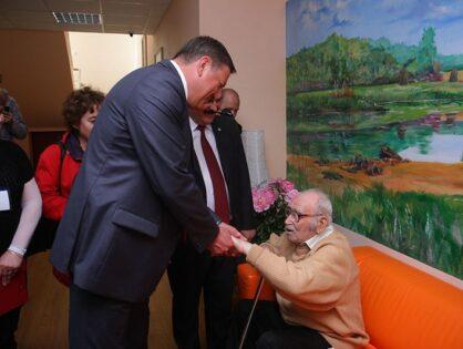 Визит губернатора Вологодской области Олега Кувшинникова